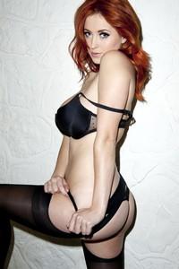 Lucy Collett Amazing Redhead Babe 05