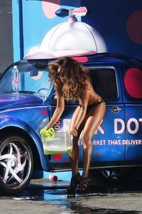 Fernanda Marin Black Bikini Car Wash 14