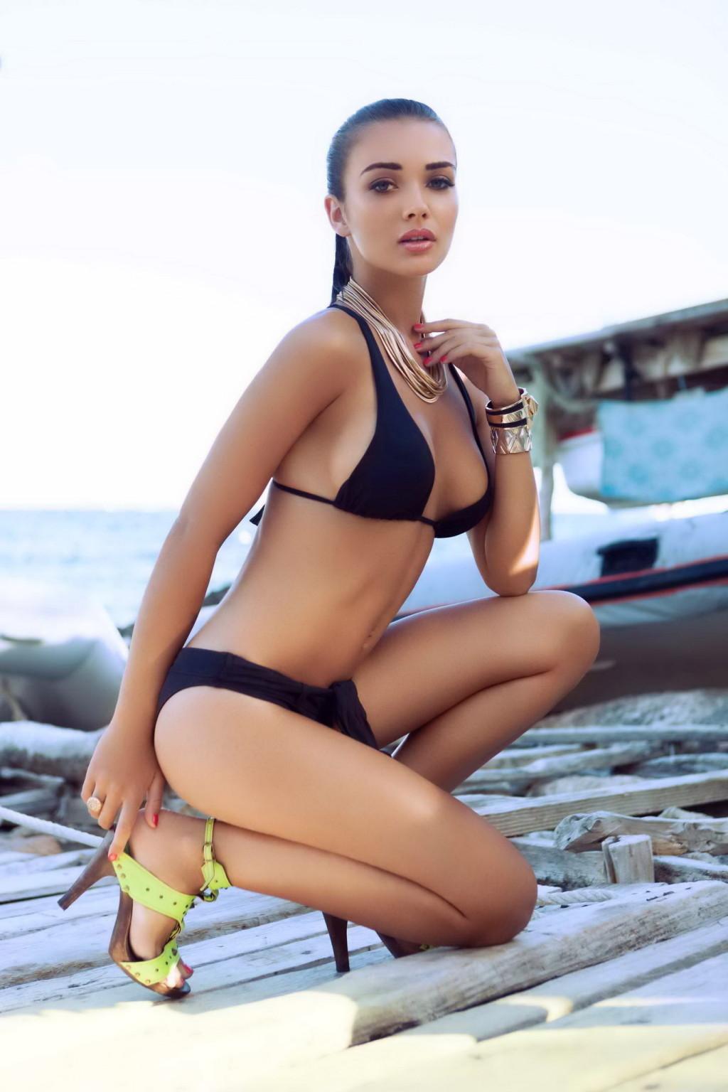 Amy Jackson Sexy Bikini Gallery 12