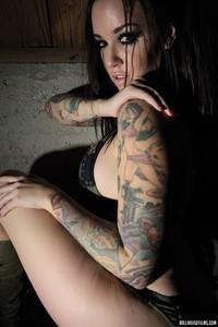 Emily Parker Tattoed Busty Babe 12