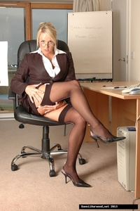 Dannii Harwood Office Slut Style 02