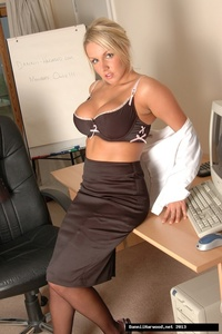 Dannii Harwood Office Slut Style 06