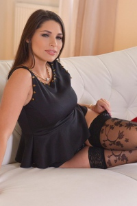 Beautifuly Busty Brunette Babe Zafira 06