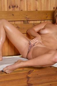 Eva Parcker Enjoy Totally Nude The Sauna 19