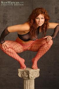 Redhead Slut Masturbating 05