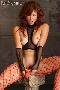 Redhead Slut Masturbating 12