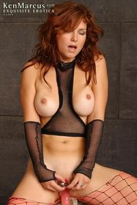 Redhead Slut Masturbating 14