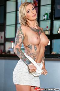 Tattooed Babe Kleio Valentien 01