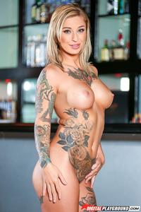 Tattooed Babe Kleio Valentien 10