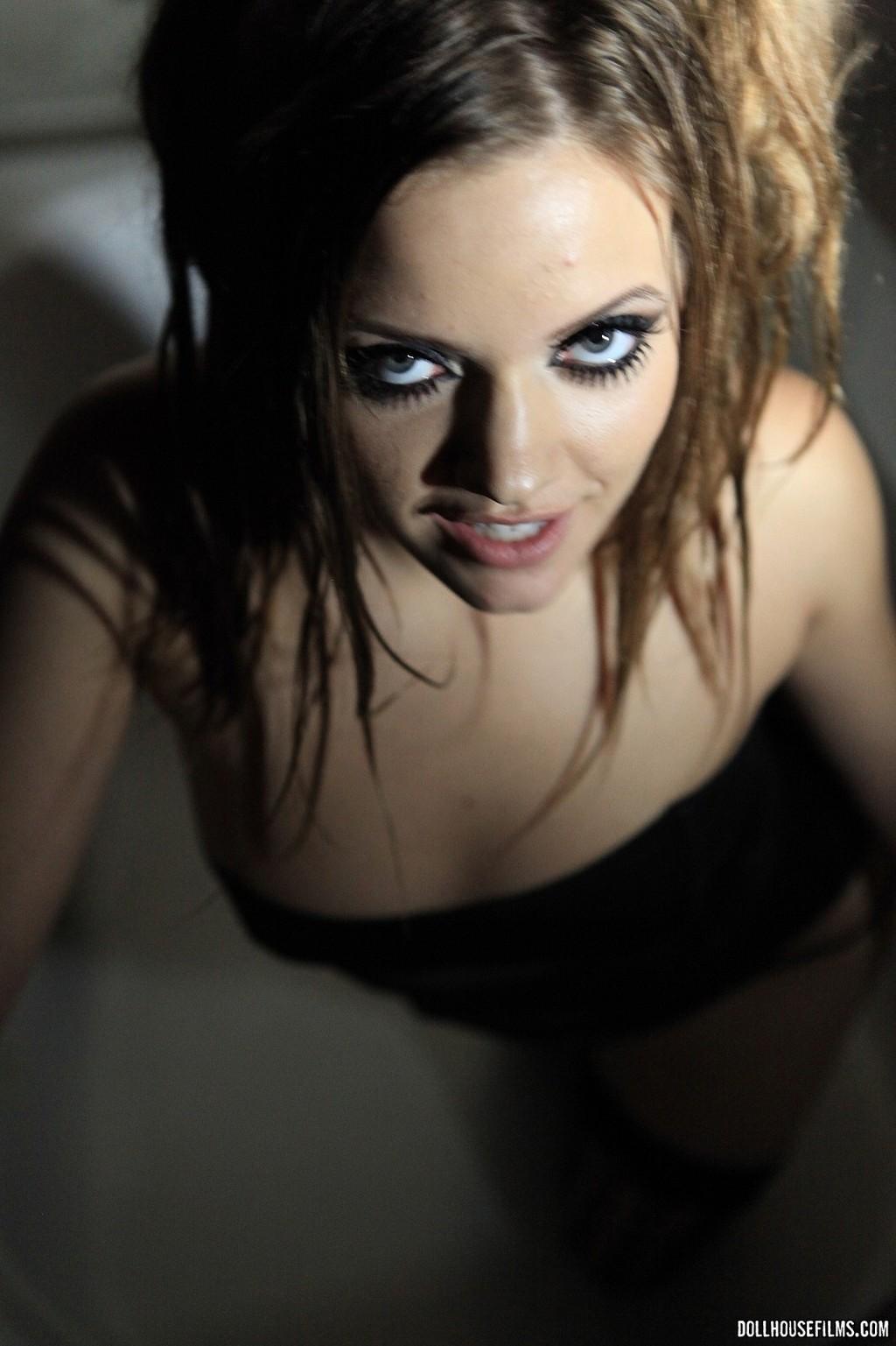 Ashlynn Leigh  Black Fishnet 07