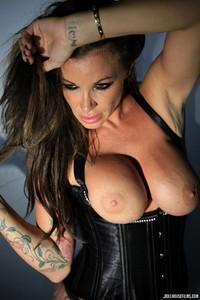 Zoe Gregory Leather Corset 04