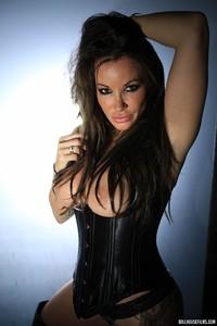 Zoe Gregory Leather Corset 06