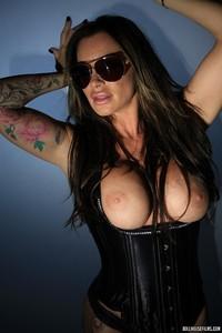Zoe Gregory Leather Corset 07