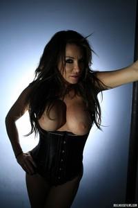 Zoe Gregory Leather Corset 08