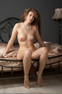 Terry A Poses Naked In Erotic Art Pictures 14