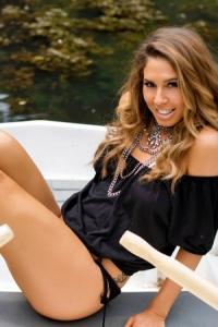 Brunette Gina Boat Trip 00