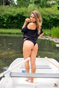 Brunette Gina Boat Trip 02