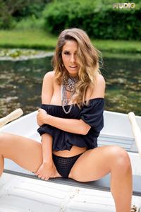Brunette Gina Boat Trip 05