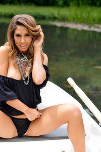 Brunette Gina Boat Trip 06