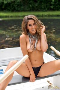 Brunette Gina Boat Trip 12