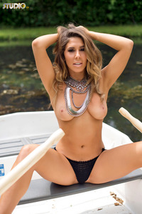 Brunette Gina Boat Trip 15