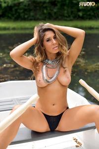 Brunette Gina Boat Trip 16