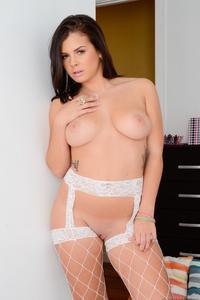 Busty Pornstar In Stockings 08