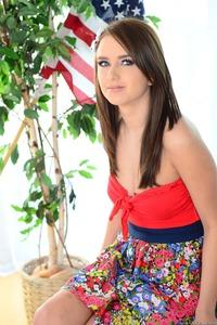 Gia DiMarco Shy Teen Beauty 00