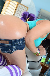Gabriella Paltrova's Round Beauty Butt 08