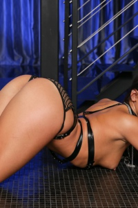Abella Danger In Black Fishnet Set 11