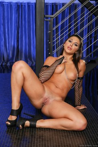 Abella Danger In Black Fishnet Set 20