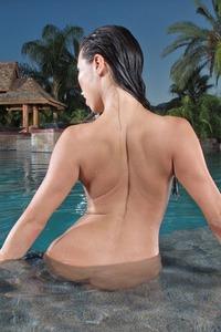 Kalina Ryu In Blue Bikini 14