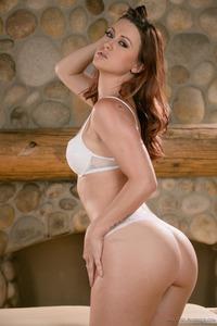 Karlie Montana Shines In White Lingerie 03