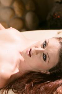 Karlie Montana Shines In White Lingerie 17