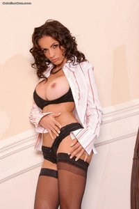 Catalina Cruz In Sexy Black Lingerie 04