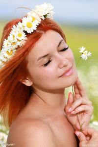 Dina White Teen Flower 20