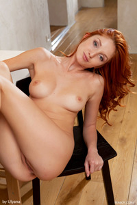 Redhead Foxy T Threw Down Her Jeans Short 14