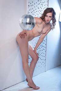 Hot Brunette Dara Posing Nude After A Big Party 12