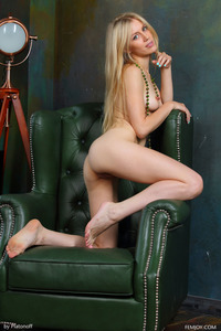 Blonde Teen Dori K Posing Nude 05