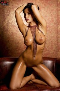 Laura Lee Nude On The Couch 06