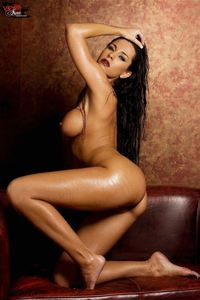 Laura Lee Nude On The Couch 10