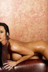 Laura Lee Nude On The Couch 15