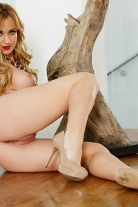 Angela Sommers Shows Her Fine Pink Pussy 06