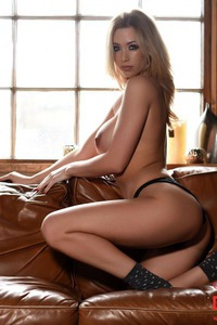 Danielle Anderson Strips On A Couch 11