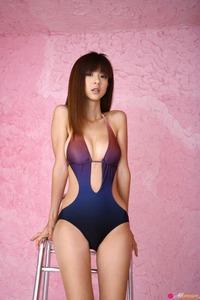 Hot Asian Beauty Aki Hoshino Posing In The Studio 06