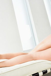 Hot Latina Samia Duarte In Sexy Blue Lingerie 07