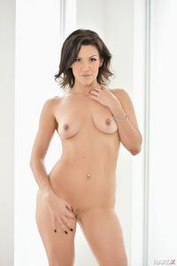 Hot Latina Samia Duarte In Sexy Blue Lingerie 13