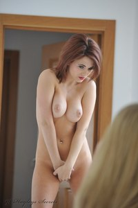 Hayley Marie And Her Hot Girlfriend Taking Nude Photos 08