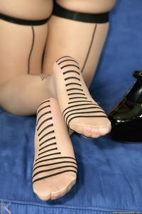 Sexy Doll Kagney Linn Karter In Stockings 11