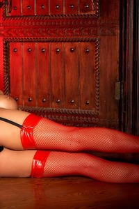 Tory Lane Getting Naughty In Her Shiny Dominatrix Wear 06